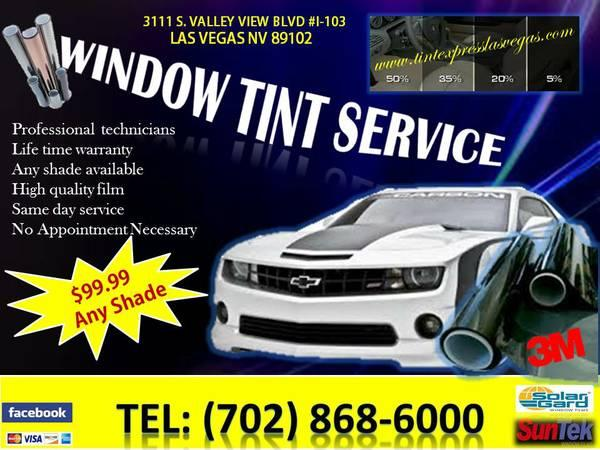 Auto TINT Express // Window Tinting