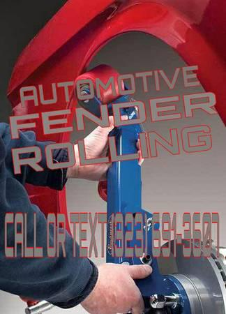AUTOMOTIVE FENDER ROLLING