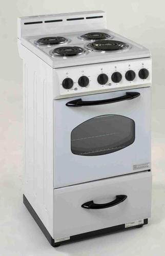 avanti 20 electric range 4 burners with oven everyday low prices for sale in hialeah. Black Bedroom Furniture Sets. Home Design Ideas