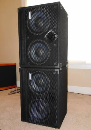 Avatar B210 Bass Speaker Cabinet 700 Watts Usa Made 2 X 10