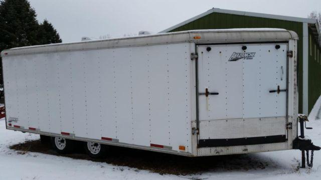 AVENGER 4 place V-Nose Enclosed Snowmobile Trailer