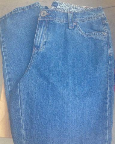 90449ba83c1 Avenue Tall Jean Relaxed Fit 5 Pocket Size 14 Tall Boot Cut Classic ...