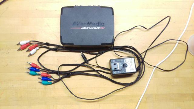 Avermedia Game Capture HD (used, missing remote- remote