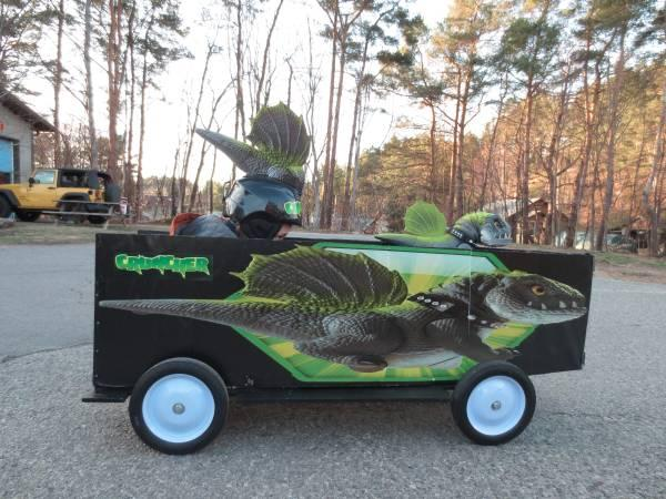 Award Winning Soap Box Derby Car - $195