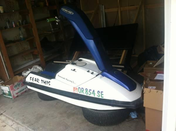 Awesome Kawasaki 650sx Stand Up Jet Ski For Sale In