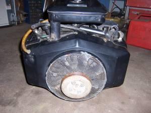 B Amp S Twin Cyl 18 Hp Horizontal Shaft Engine Sw Mi For