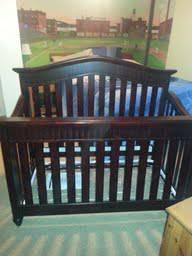 Babi Italia Eastside Convertible Crib For Sale In Rose