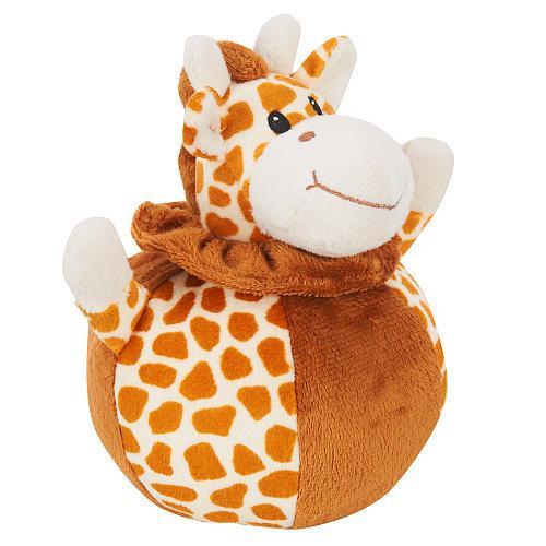 Babies R Us Plush 6.5 inch Animal Chime Ball - Giraffe