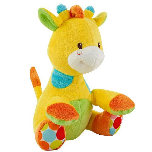 Babies R Us Plush 7 Inch Gumball Beanbags Giraffe Yellow