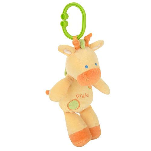 Babies R Us Plush Giraffe with Sound and Light - Yellow