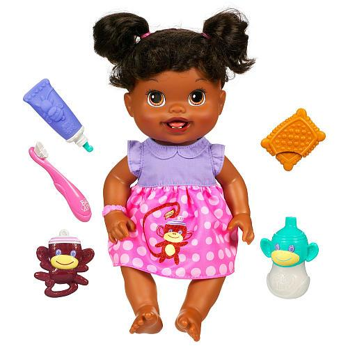 Baby Alive Babys New Teeth Doll - African American
