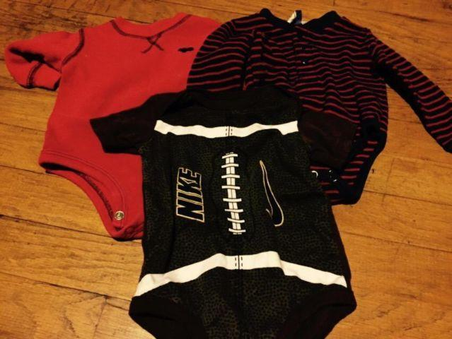 Baby boy clothes, size 6 to 9 mos, lot of 19 items great brands