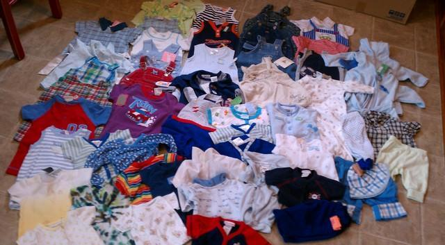 baby boy clothing size 03 months xl lot south