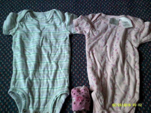 Baby clothes lot and 18 month 49ers snow suit