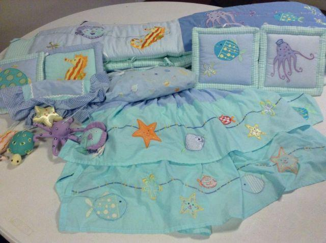 Baby Crib Bedding Set Ocean Theme For Sale In Homosassa