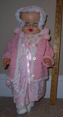 Baby Doll in Pink Handmade Clothes - $25 Wilmington