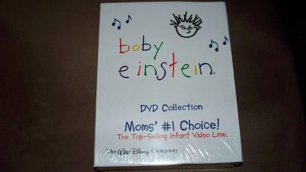 BABY EINSTEIN 26 DVD SET NEW IN BOX NEVER USED