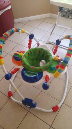 BABY EINSTEIN JUMPER - $35