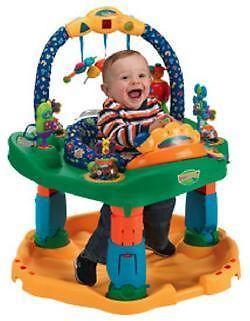 Baby-EvenFlo Smart-Steps Exersaucer Entertainer Model-$20