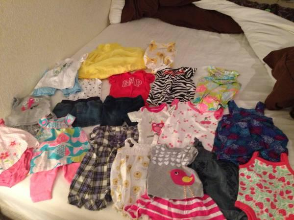 Baby girl clothes for sale - $60