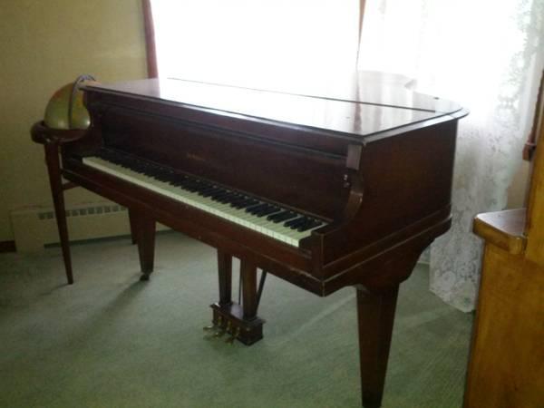 Baby Grand Piano- De Koven - for Sale in Alburnett, Iowa