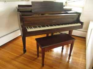 Baby Grand Piano - $500 (Holden MA)