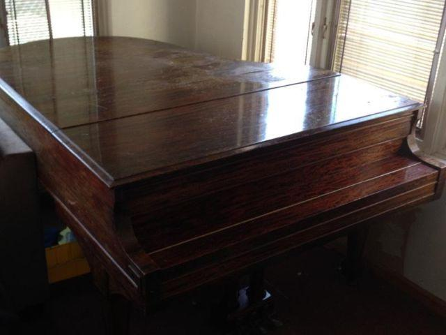Baby Grand Piano - Antique 150 years