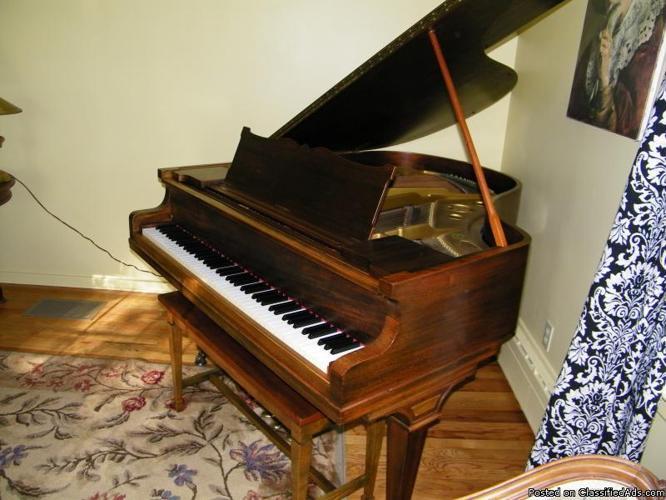 Baby Grand Piano J Amp C Fischer For Sale In Essexville
