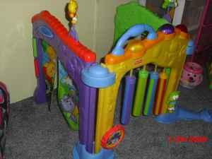 Baby Infant Indoor Outdoor Crawl thru Playset Gym