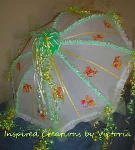 Baby Shower Decoration Umbrella baby shower decorative umbrella - (orange park) for sale in