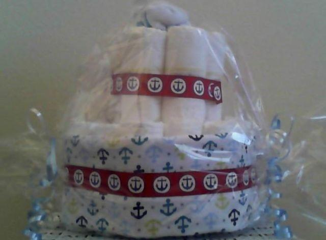 Baby Shower Diaper Cakes & Gift Baskets