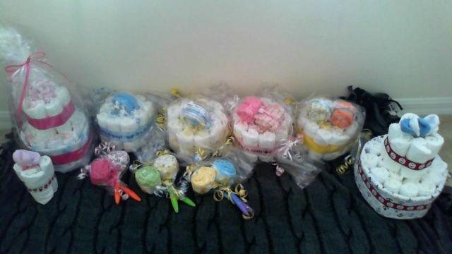 Baby Shower Diaper Cakes Gifts