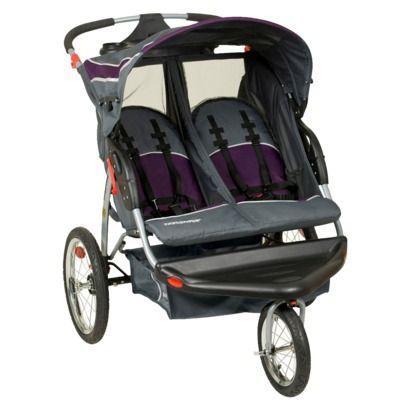 Baby trend double jogging stroller - $125 Solomon, KS