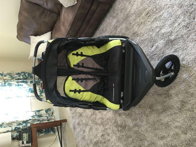 Baby Trend Expedition Ex Double Jogging Stroller For Sale