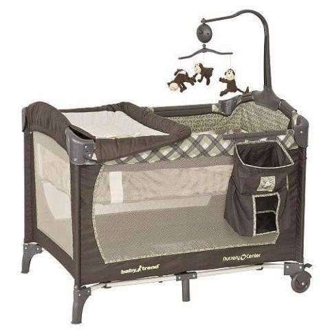Baby Trend Monkey Around Play Yard Nursery Center For Sale