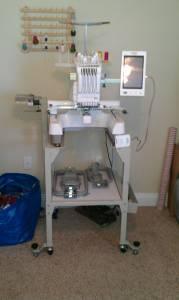 Babylock 6 Needle Embroidery machine - $7800 Daphne,Al.