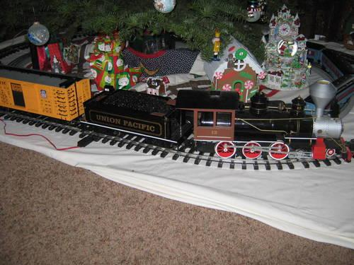 bachman golden spike electric g scale train set for sale. Black Bedroom Furniture Sets. Home Design Ideas