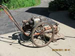 Bachtold weed mower and 15 Gallon sprayer - $150