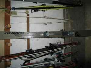 Back country ski set up - 165's w/ Fritschi's - $300