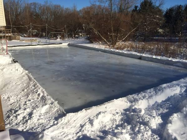 backyard hockey rink frame 25 39 x55 39 for sale in webster new york