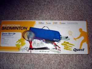 Badminton Set - $20 (21236)