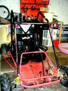 Baja Motorsports Blaster 65 Go Kart - $400 (Ashtabula
