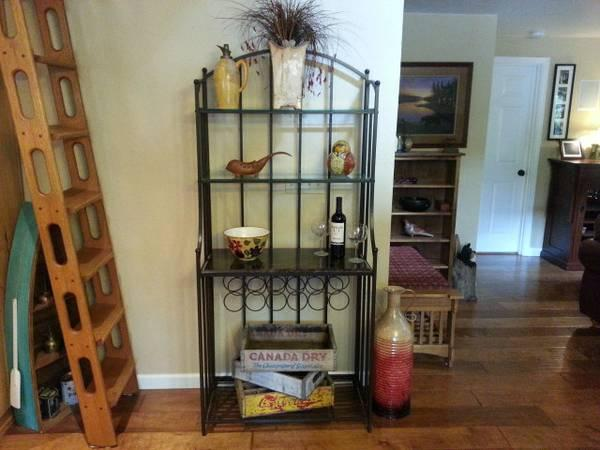 Bakers Rack With Granite Top For Sale In Grants Pass