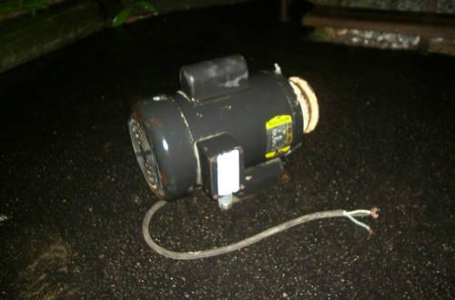 Baldor Single Phase Industrial Electric Motor 2 HP