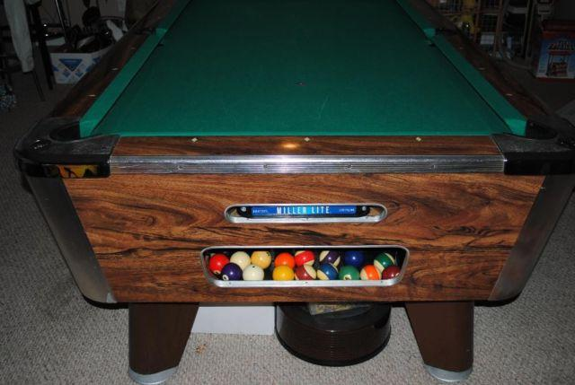 Ball Return Pool Billard Table Including Set up and Delivery for Sale ...