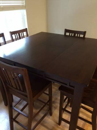 Bar Height Dining Table W Chairs For Sale In Citrus Heights - Bar height dining table with 6 chairs