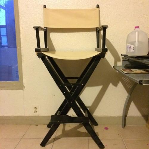 Bar Height Directors Chairs Black Tan For Sale In San