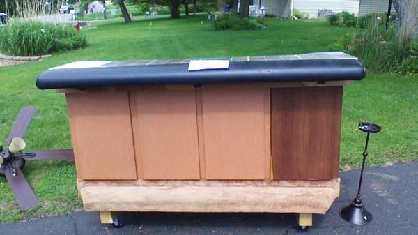 Bar On Wheels Great For Garage Patio Or Home For Sale