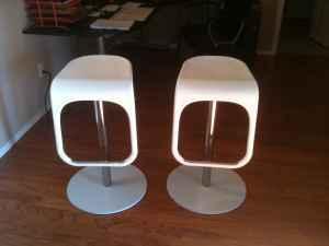 Bar Stool Set Of 2 From Ikea   $50 (Stillwater, OK)
