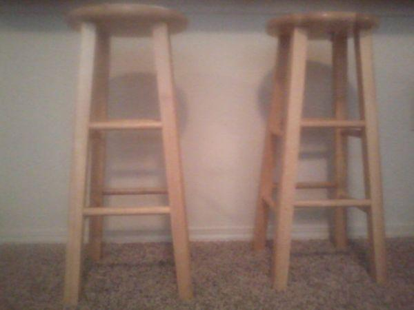 Bar stools like new tulsa hills for sale in